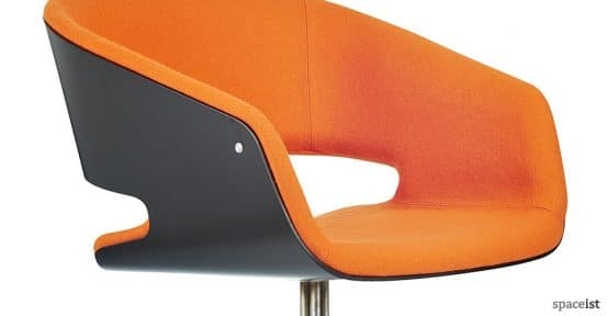 spaceist-gap-chair-disc-orange-closeup