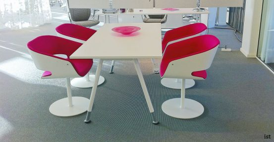 gap pink designer meeting room chairs