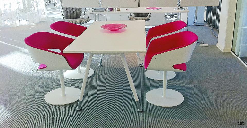gap pink designer meeting room chairs