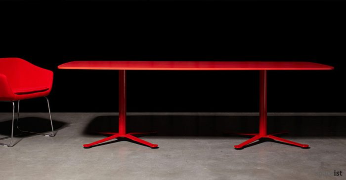 gecko red meeting tables