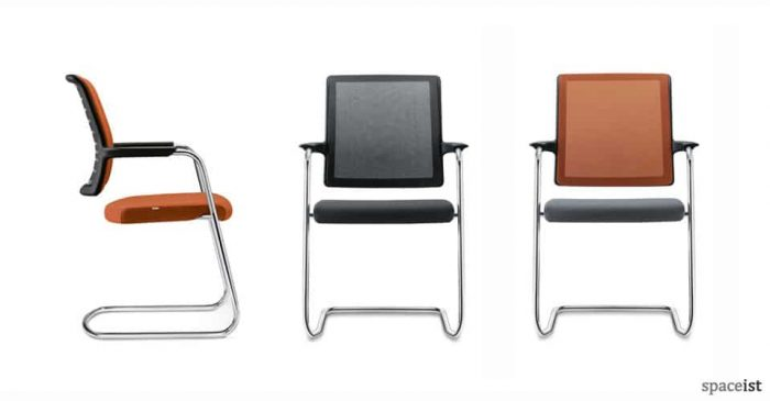 goal cantilever meeting chairs