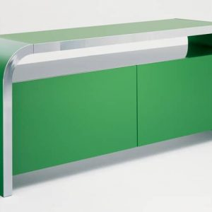 green meeting room cabinet
