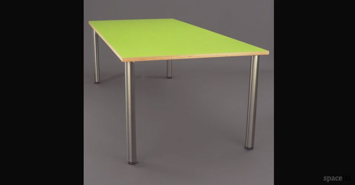 green thin study table