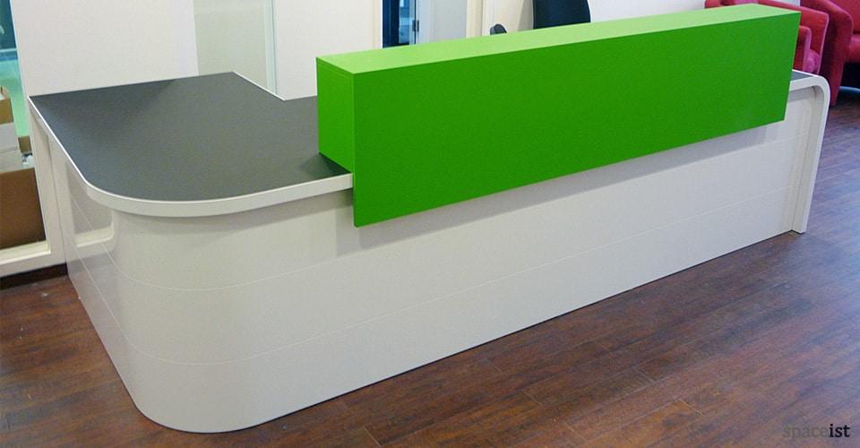 Reception Desks Hi Line Corner Reception Desk