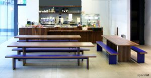 jb walnut canteen benches