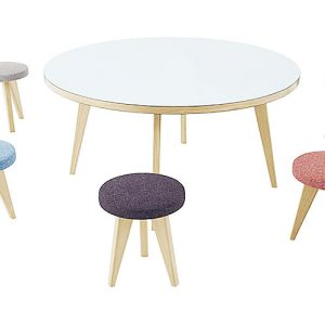 Jura large round meeting room table