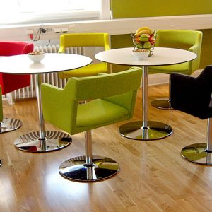 kennedy red lime chairs