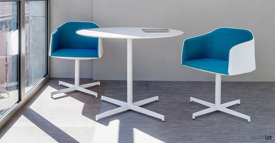 laj stylish large round cafe tables