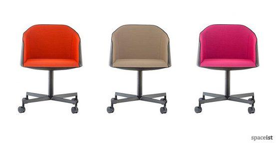 laja desk chair colours