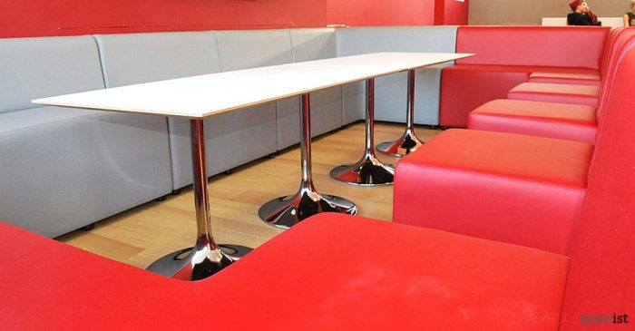 Rectangular Cafe Tables Hard Wearing Canteen Tables Bar Cafe - Long cafe table