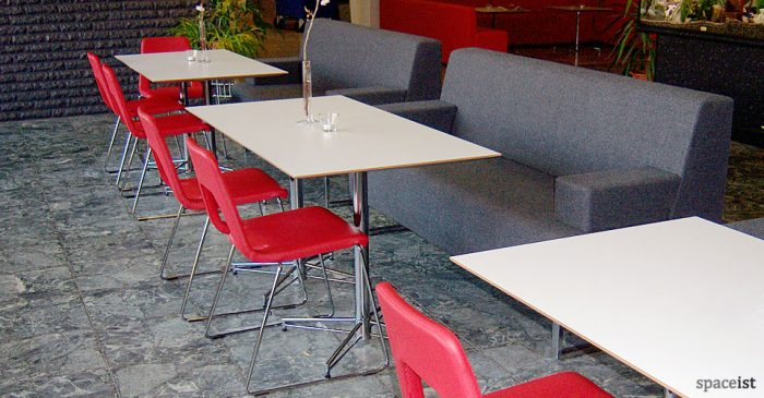 long x cafe table