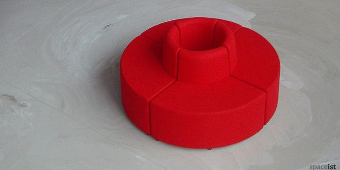 modular cube round reception chairs