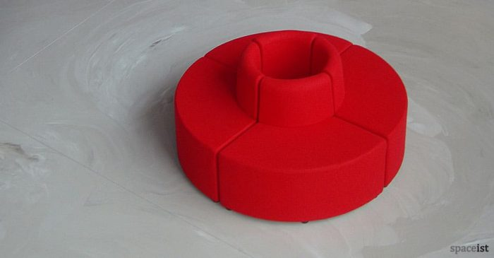 modular cube round reception chairs