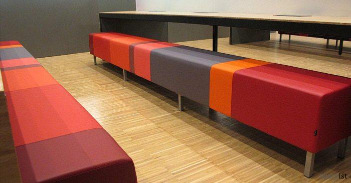 modular cubes multi coloured stripe