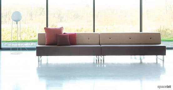 Modular Sofa with button back