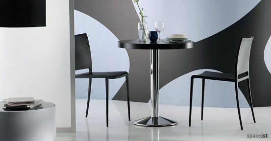 Mya red designer cafe chairs