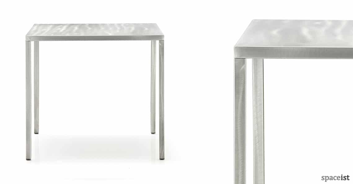 square cafe tables rusty metal table new