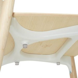 Nemea red + natural ash cafe chair