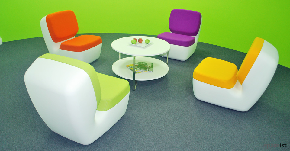 nimrod colourful library chairs