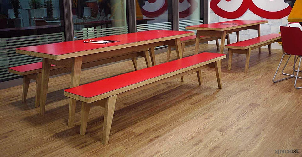 Canteen benches jb osprey table