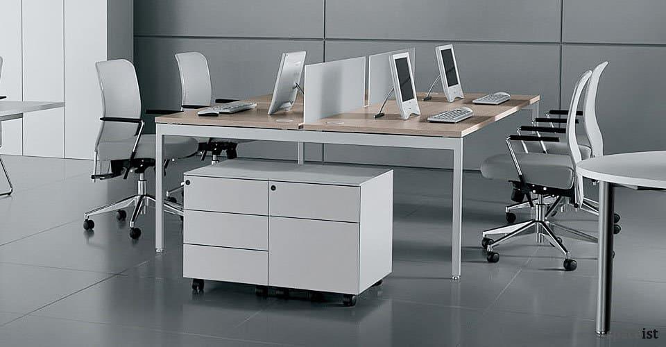 ot white bench desks