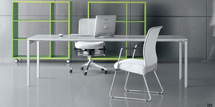 ot white office desks