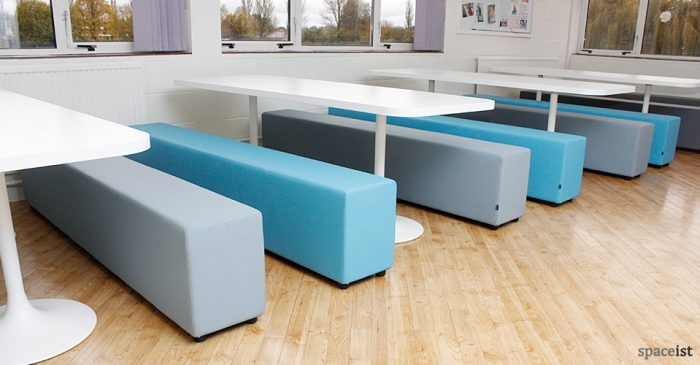 oxford high school blue canteen tables
