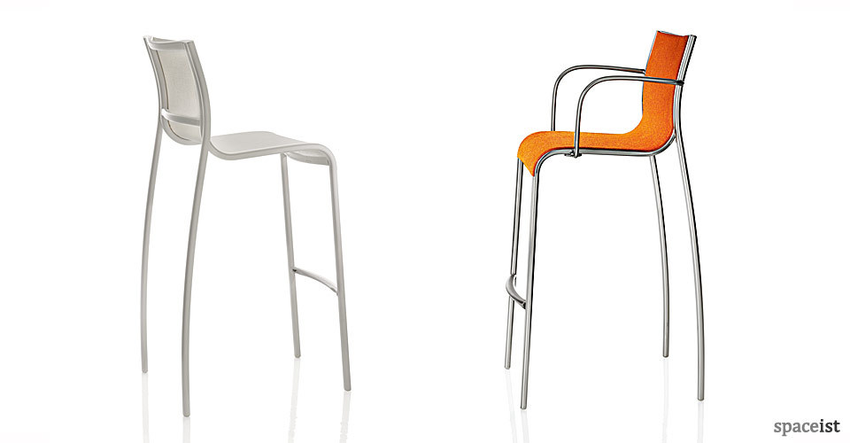 paso doble aluminium bar stool