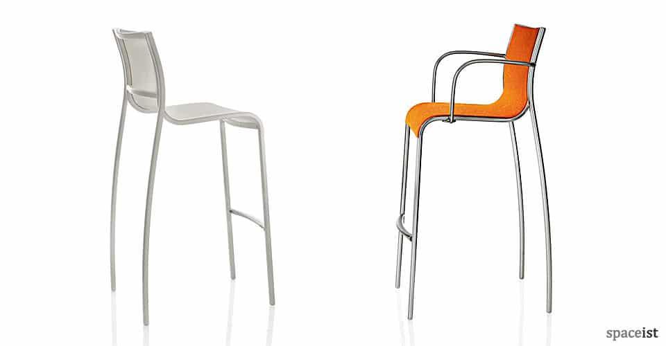 paso doble aluminium bar stool