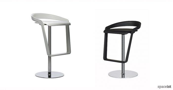 piano plastic bar stools