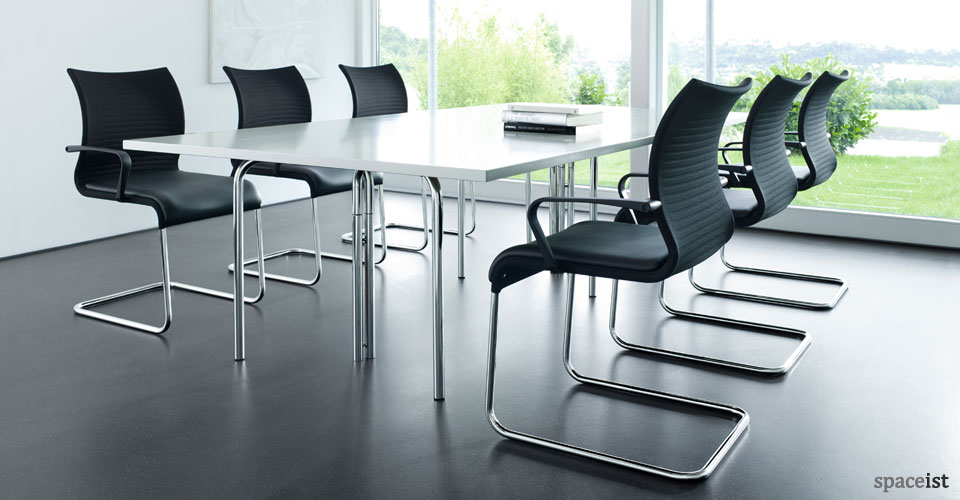 pios black meeting chairs