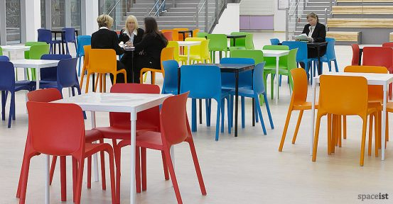 Canteen chairs seating
