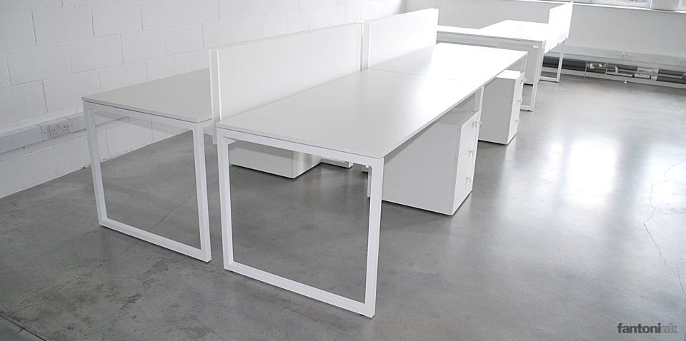 minimalist office furniture. Purelife White Designer Single Desks Minimalist Office Furniture