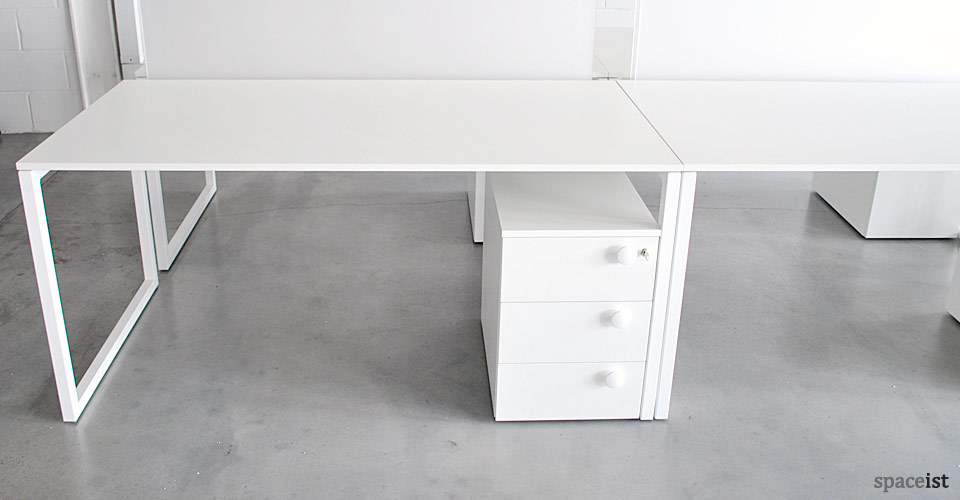 office desk with storage. Simple With Pure Life White Under Desk Storage For Office Desk With Storage