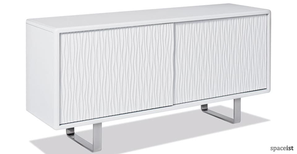 s4 white meeting room cabinet