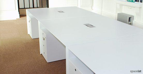 salter baxter white desk