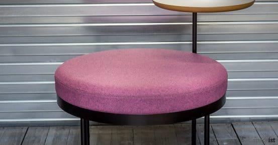 Shima reception seat closeup