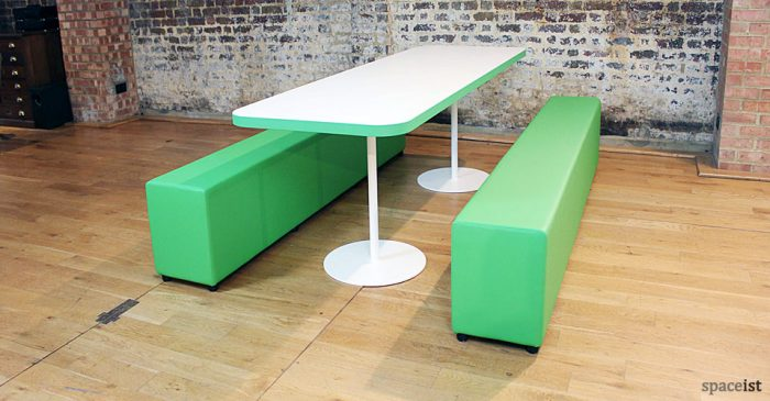 soft-bench school canteen table and benches