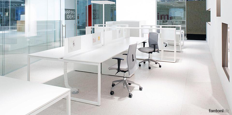 frame white bench desk