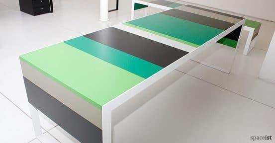 stripes green stripey colour meeting