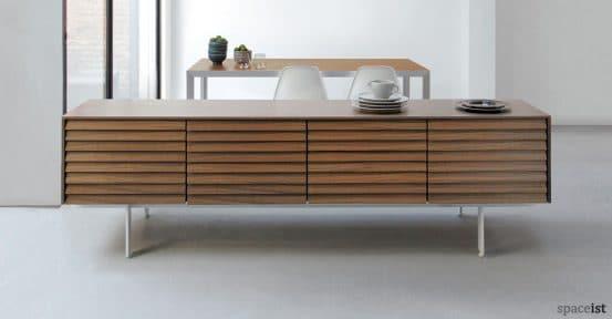 sussex walnut meeting room cabinet