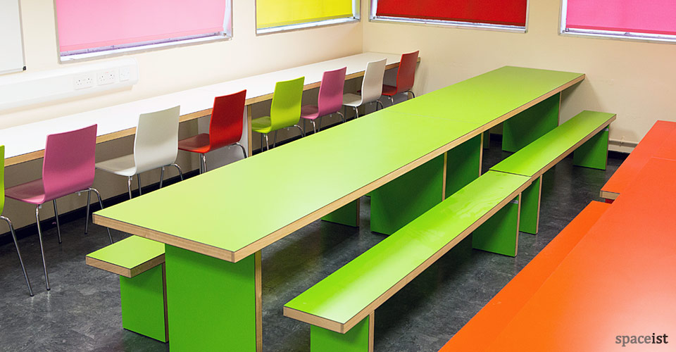 swakelys long wall canteen table