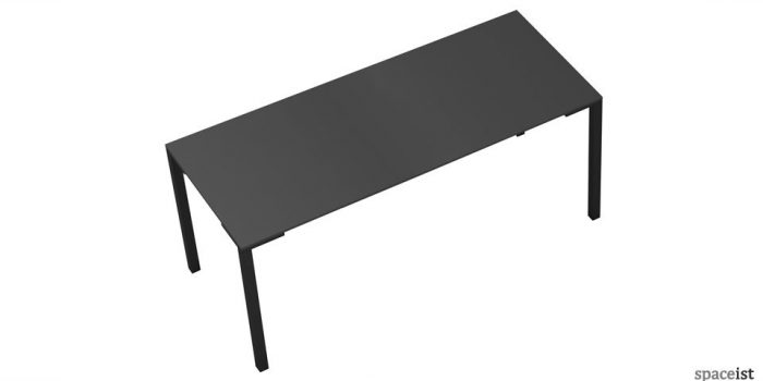 togo long black canteen tables