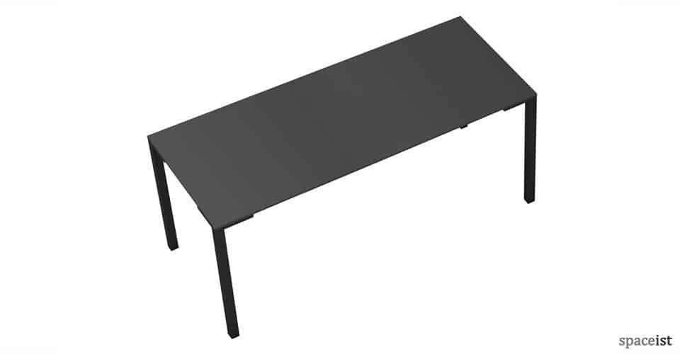 togo long black canteen tables