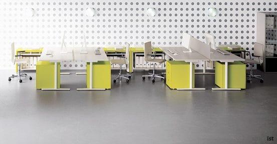 tre height adjustable office desks