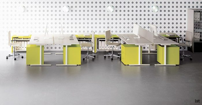 tre height adjustable office desks