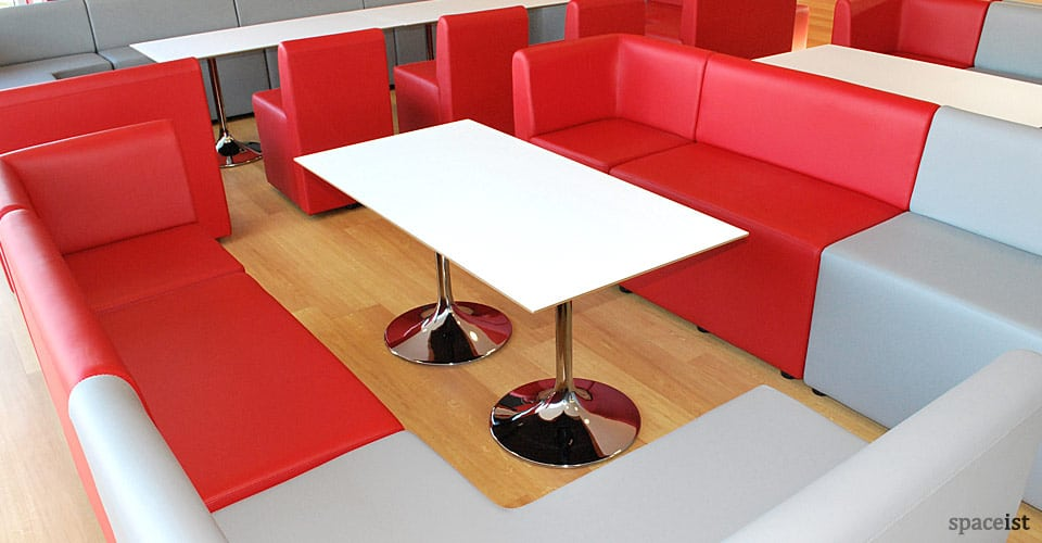 trumpet white coffee tables