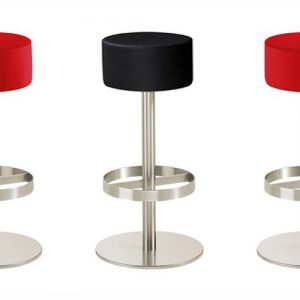tx round leather bar stools