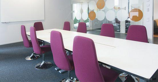 viggen purple meeting room chairs