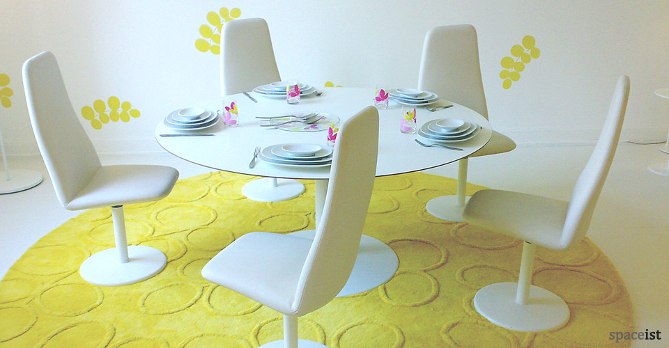 viggen white meeting chairs